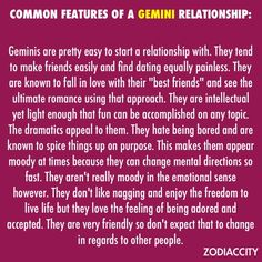 dating advice for gemini man