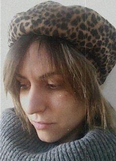 Compra il mio articolo su #vinted http://www.vinted.it/accessori/baschi/30990-basco-cappello-leopardato-maculato-vintage