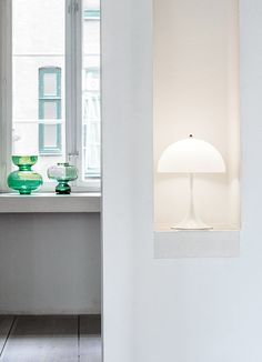 Louis Poulsen: Panthella MINI is a smaller version of Verner Panton's classic Panthella lamp from 1971.