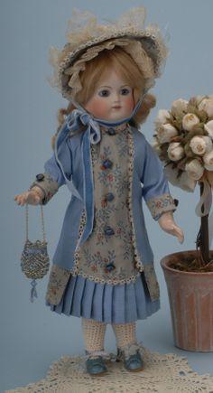 french dolls | ... French doll company, Schmitt & Fils, in the 1880's. Pierced ears Doll