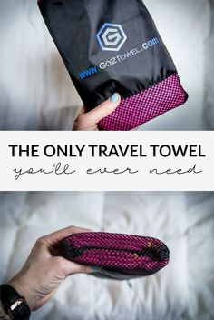Review of the Go2Products multi-functional microfiber travel towel. I tested it out on a recent trip to San Francisco, here's what I found!