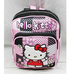 802958426 NWT Hello Kitty Mini Backpack Bag Black Pink Newest Style Licensed Sanrio