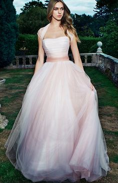 Ballet Wedding Dress - Suzanne Neville Vintage Rose 2014 Collection
