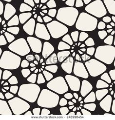 Vector seamless pattern. Modern stylish texture. Repeating abstract background…