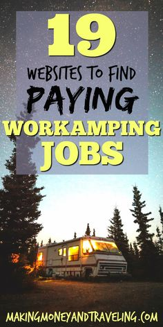 Paying Workamping Jobs The Ultimate Guide Making Money and Traveling Find ., Find Paying Workamping Jobs The Ultimate Guide Making Money and Traveling Find ., Find Paying Workamping Jobs The Ultimate Guide Making Money and Traveling Find . Bus Life, Camper Life, Ways To Travel, Rv Travel, Travel Ideas, Living On The Road, Rv Living, On The Road Again, Way Of Life