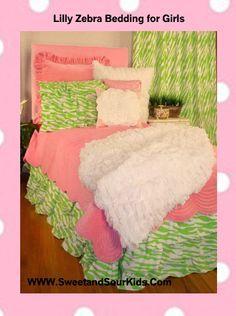 Pink, twin, girls, bed, set, bedding,