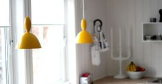 Muuto Mhy lamp Nordisk Rom : desember 2012 Lamp Design, Ceiling Lights, Lighting, Mini, Inspiration, Home Decor, Future, Haus, Light Bulb Drawing