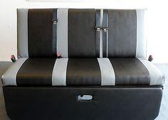 STREAMLINE FULL WIDTH ROCK N ROLL BED FITS VW T4 T5 ETC UPHOLSTERY & SEAT BELTS