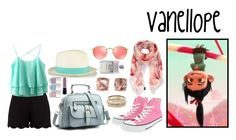 """""""Vanello - Casual Style"""" by tinkerbell06 ❤ liked on Polyvore featuring RALPH, Boohoo, Furla, Converse, Ray-Ban, Kendra Scott, Carolee, Nails Inc. and Gucci"""