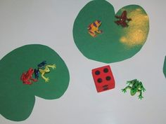frogs on lily pads dice game