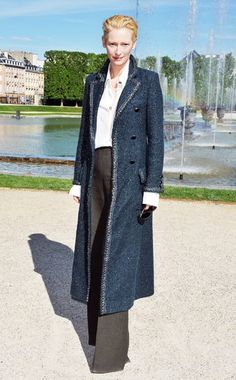 Tilda at Versailles in support of KL for Chanel.