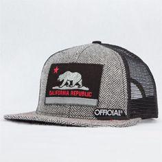 Official Cali Mens Trucker Hat