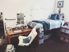 Ana's dorm room