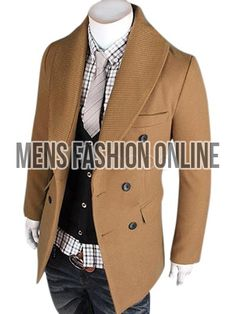 Buy new pea coats for men with fashion styles unseen elsewhere! Our cheap pea coat prices of black, hoody, or doudble breasted pea coat styles are available on sale.