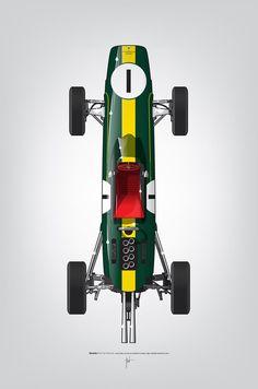 """modernizor: """"Ricardo Santos - Jim Clarke 1962 Lotus """""""