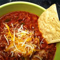 "Flatlander Chili | ""I like this recipe a lot! I've made it every week since the first time I've tried it, and I've gotten compliments from my family and coworkers."""