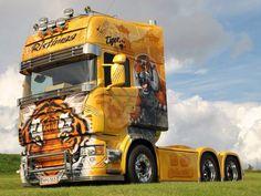 Scania R Ristimaa Customs Tiger