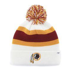 855c7ad9f Washington Redskins Breakaway Cuff Knit White 47 Brand Hat Redskins Hat