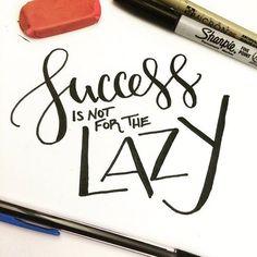 Hand lettering from Letter Lane Design Studio