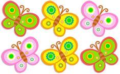 justpict.com Imagenes De Mariposas Infantiles De Colores