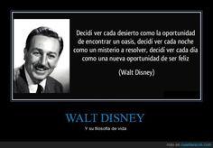 WALT DISNEY - Y su filosofía de vida
