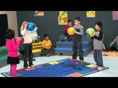 Bounce High, Bounce low - uses different words.  Can use for steady beat assessment in small group.