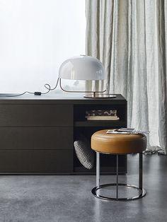 Complements: FRANK - Collection: B&B Italia - Design: Antonio Citterio