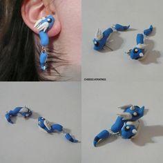 Clinging Pokemon Earrings :3 - Imgur