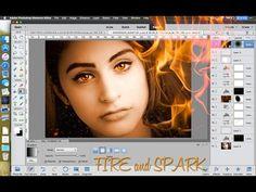 Photoshop Elements 14 - Creating Fiery Portraits - YouTube