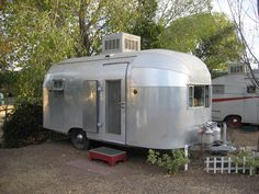 This Airstream camper for sale is the ideal fit for everyone who is searching for a new adventure when enjoying a modern style. So I began looking at Airstreams. The Airstream Basecamp for sale is … Airstream Bambi, Airstream Travel Trailers, Vintage Airstream, Vintage Travel Trailers, Camper Trailers, Airstream Motorhome, Airstream Basecamp, Vintage Rv, Vintage Campers