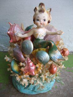 The Most Magical 1950's Mermaid Figurine