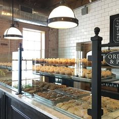 Joanna Gaines is kind of an inspiration. She now has a bakery too. Silos Baking Co Bakery Decor, Bakery Interior, Bakery Display, Interior Shop, Rustic Bakery, Bakery Ideas, Bakery Shop Design, Coffee Shop Design, Cafe Design