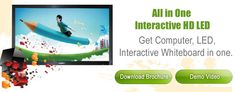 Interactive HD LED or Smart Board is the popular products of Classteacher, Interactive whiteboard and LED Whiteboards provides innovative and interactive solutions for Education.