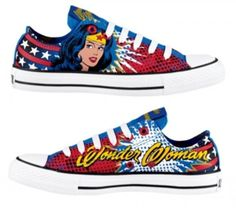 Comic Book-Inspired Fashion Painted Shoes,Low-top Painted Canvas Shoes