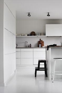 elisabeth heier   kitchen   white   minimalist   clean   contemporary