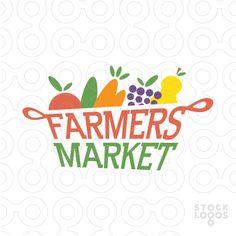 Exclusive Customizable Logo For Sale: farmers market | StockLogos.com