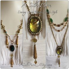 "Limited edition ""Simply Coco"" collection warm color pallette of green, gold, amber, bronze & brown throughout. Colour Pallette, Bracelet Tutorial, Mixed Media Collage, Bead Patterns, Warm Colors, Statement Jewelry, Making Ideas, Amber, Jewelry Accessories"