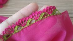 Dear Ladies, Here Comes The Irish Crochet Lace ! - All Knitting Videos - Maria Hand Embroidery Videos, Hand Embroidery Flowers, Hand Embroidery Designs, Crochet Lace Edging, Crochet Borders, Crochet Doilies, Irish Crochet, Saree Tassels Designs, Saree Kuchu Designs