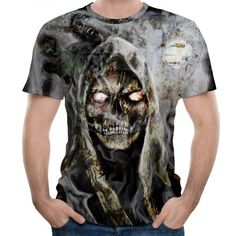 Spirale mort côtes sans manches t shirt-noir-all over print
