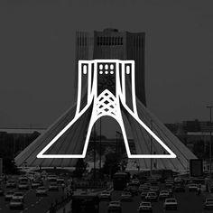 almigor Tehran, Azadi Tower. Suggested by: @mooooohammaaaaad Suggest the next place in the comment below.. ________________________________________________ #design #illustration #logotype #landmark #dribbble #landmarks #landmarktower #stickerline #tehran #simplycooldesign #minimal #arhitecture ️ #gdblog #visforvector #arhitektura #pirategraphic #graphicroozane #arhitecturelovers #digitalart #inspiration #minimalist #spain #pencil #world #iran #drawingtools #designtools #azaditower #shahyad…
