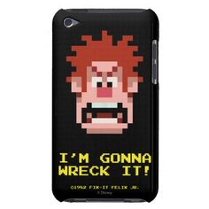 Wreck-It Ralph: I'm Gonna Wreck It! iPod Touch Case