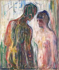 Cupid and Psyche, 1907, Edvard Munch, Munch Museum.