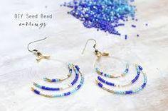 seed beads earrings - Google Search