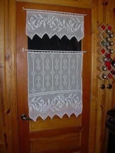 Filet Curtain - CROCHET
