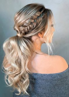 Hottest Cost-Free Ponytail hairstyles fancy Tips Summertime is just about over a. Hottest Cost-Free Ponytail hairstyles fancy Tips Summertime is just about over a. Medium Hair Styles, Short Hair Styles, Fancy Ponytail, Fancy Hairstyles, Braided Hairstyles Medium Hair, Simple Ponytail Hairstyles, Black Hairstyles, Mid Length Hair, Bridesmaid Hair