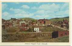 Cripple Creek Colorado Vintage Postcard