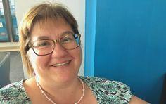Hyvän elämän valmentaja Paula iloisena Siltsussa 8/2017