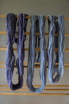 dyeing yarn with black beans