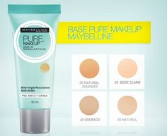 Base Pure Makeup - Maybelline