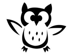 Halloween Pumpkin Carving Template: Halloween Hoot | eHow.com